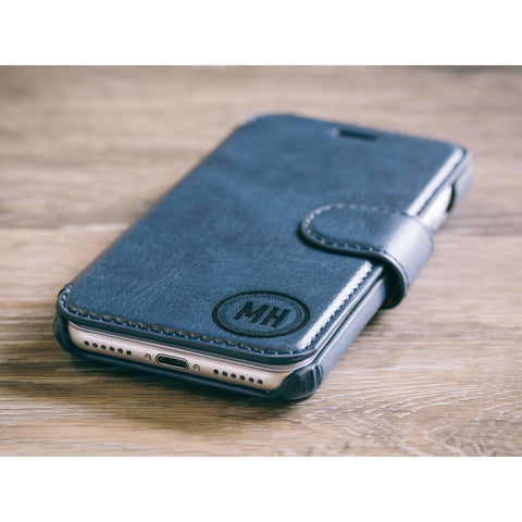 Circle Phone Case - Blue