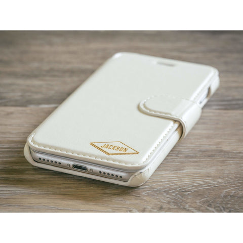 Diamond Phone Case - White
