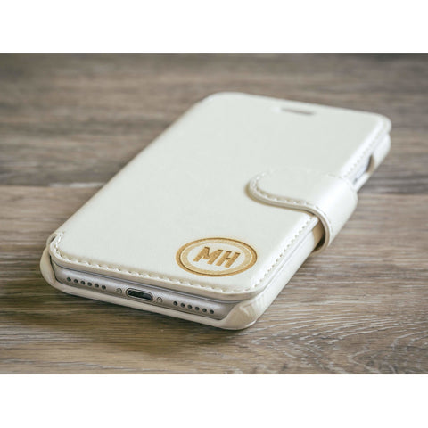 Circle Phone Case - White