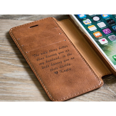 circle phone case, personalized iphone 7 case, leather iphone 7 case, leather case, personalized phone case, personalized leather cover