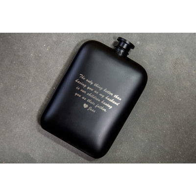 classic hip flask | personalized hip flask | hip flask with initials engraved | unique hip flask | personalized flask