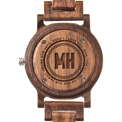 Mens wooden watches | personalized engraved wooden watch | wooden watch | personalized watches | personalized gifts