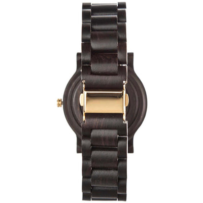 engraved watches | ebony link watches | wooden watch | customized watch | customized wooden watch