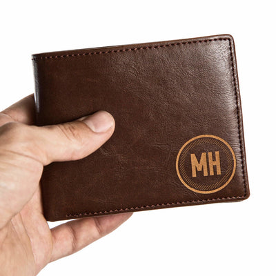Personalized Men's Leather Wallet, leather wallet, personalized wallet for men, wallet for men, personalized gift for him, personalized gift, Customized gift