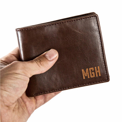 wallets for men | personalized wallets | personalized gifts for men | bifold wallets | leather wallet for men | leather wallet with custom message