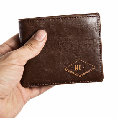 unique leather wallet | customized leather wallet | bifold wallet | personalized leather wallet | wallet for men