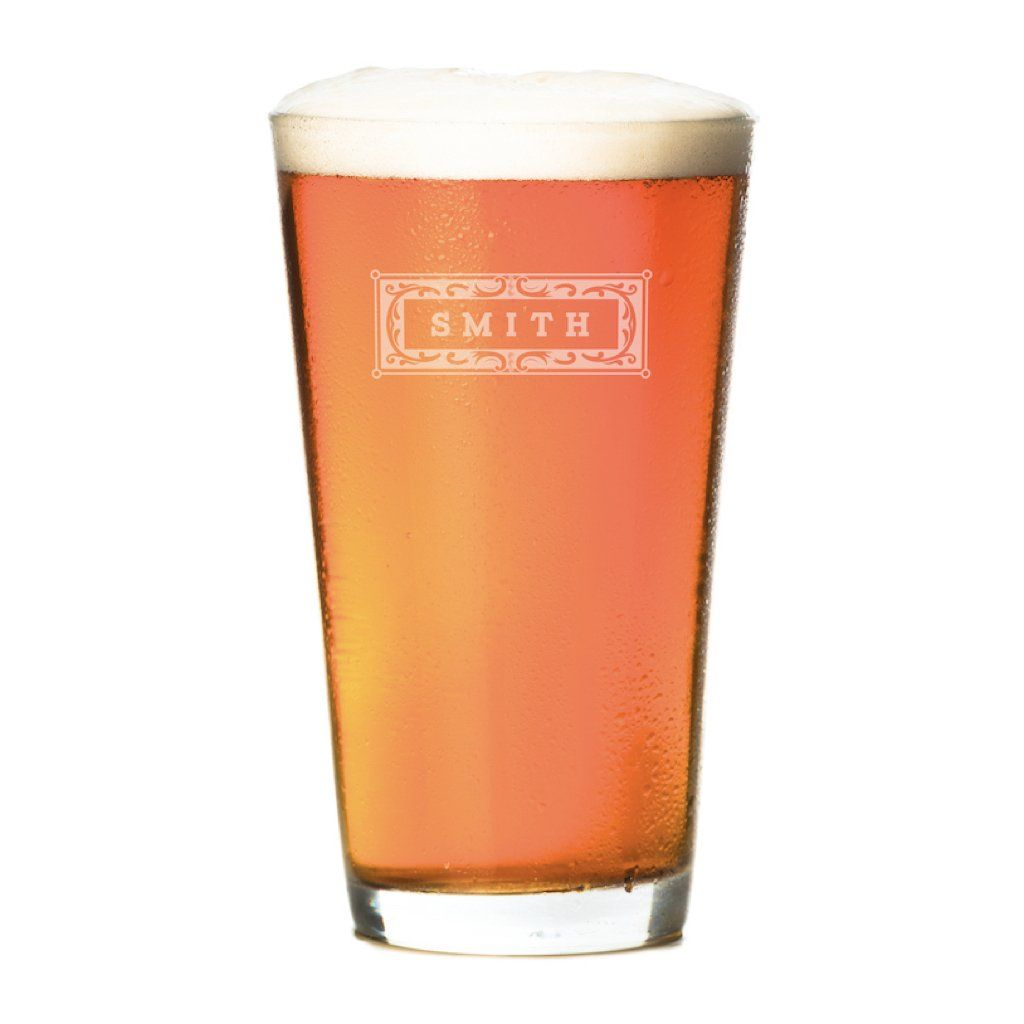 Pint Glasses - Set of 4: The Classic