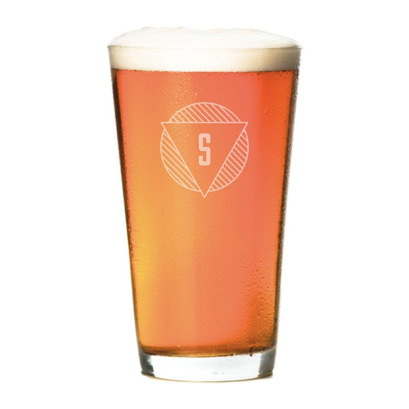 Pint Glasses - Set of 4: The Modern