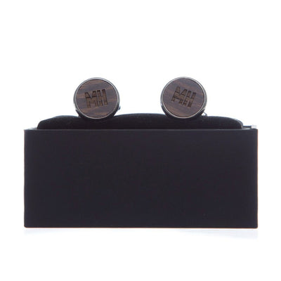 Cufflink & Tie Bar Set - Sandalwood