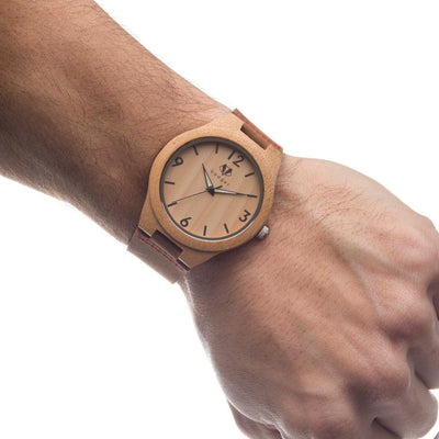 Bamboo Tailored Watch - Groomsmen