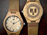 Bamboo Numbered Watch - Valentine