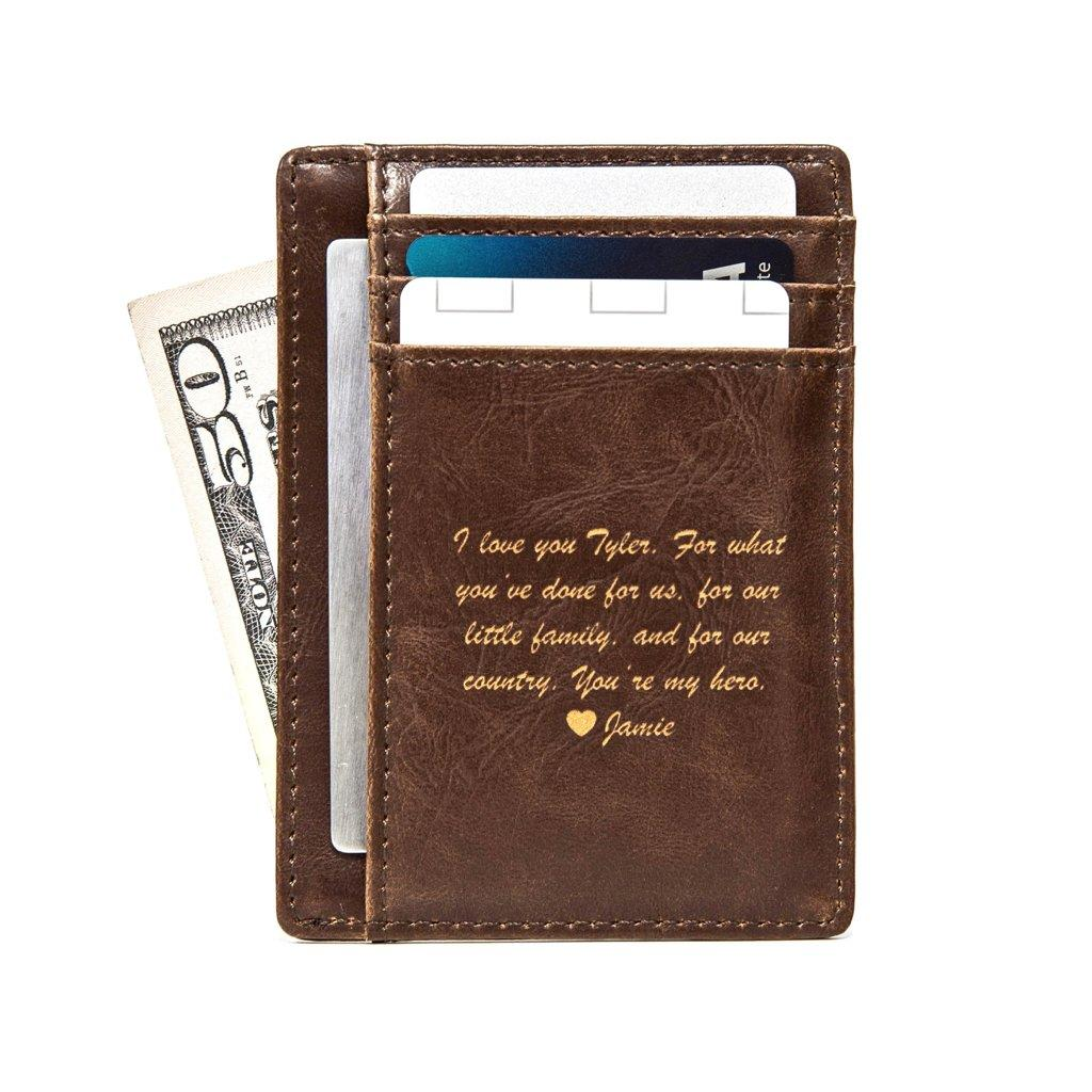 Front Pocket Wallet: Message