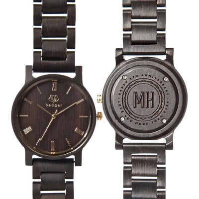 Ebony Links Watch - Anniversary