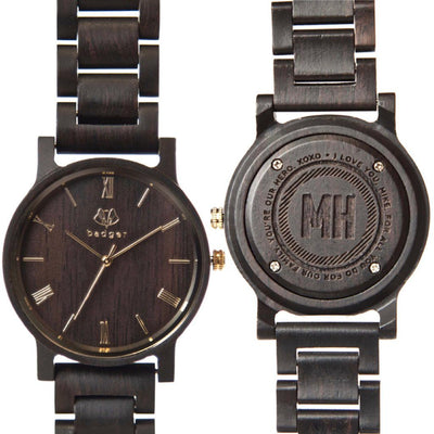 Ebony Links Watch - Message