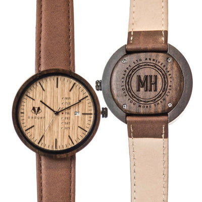 Sandalwood Modern Watch - Anniversary