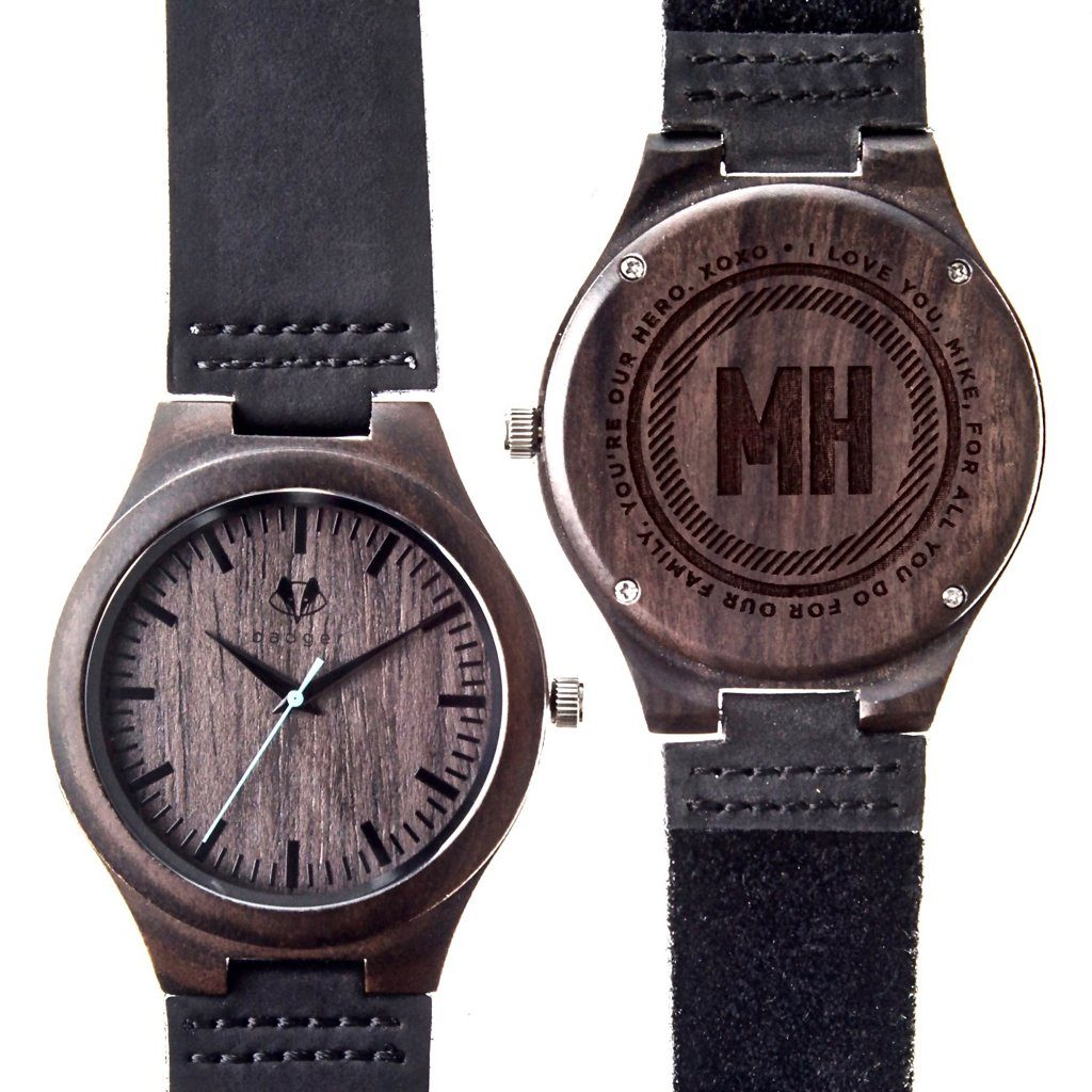 Sandalwood Classic Watch - Message