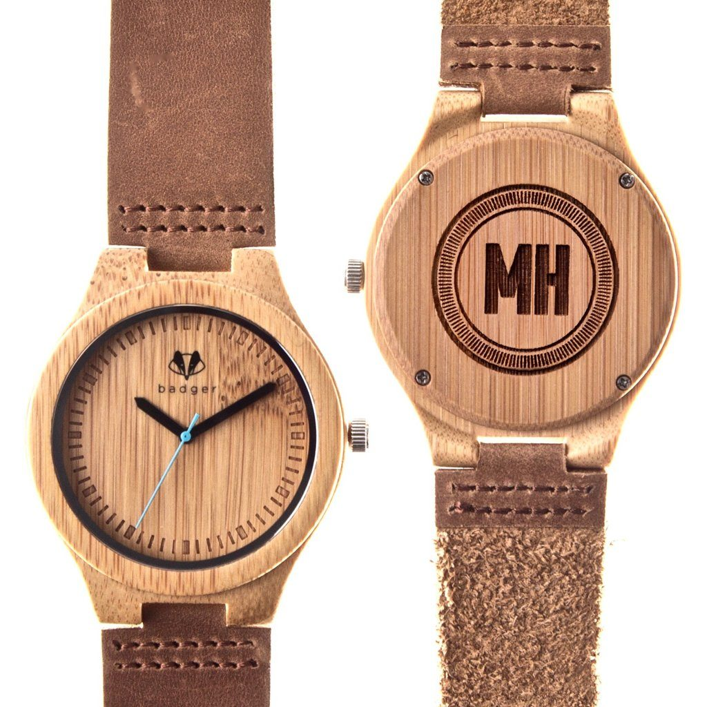 Bamboo Classic Watch - Initials
