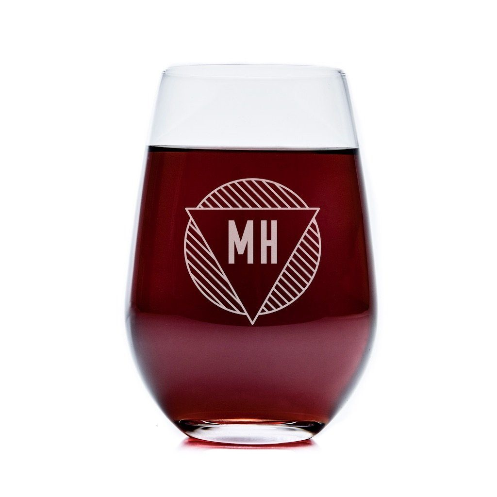 Stemless Wine Glasses - Set of 4: The Modern