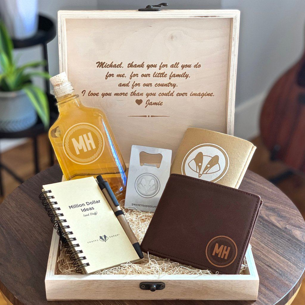 Appreciation Gift Box // Circle Rustic #2