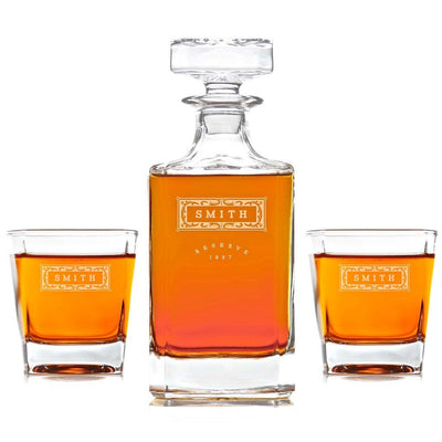 Whiskey Decanter: Father's Day