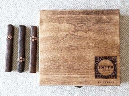 heirloom cigar box | personalized cigar box | cigar box | gifts for men | wooden cigar box | personalized wooden box