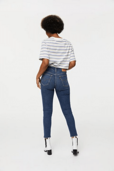 Mental Block Wedgie Skinny Jeans by Levis currently available from Rawspice Boutique