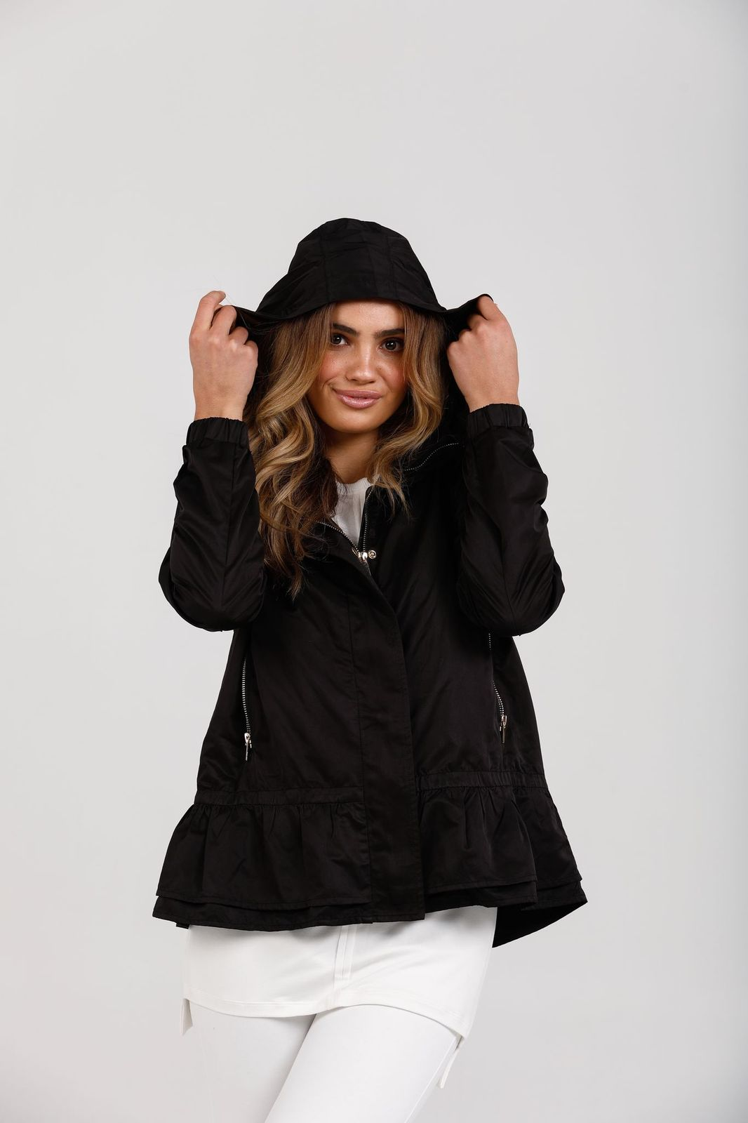 Black Danbury Jacket - by Brave and True currently available at Rawspice Boutique.