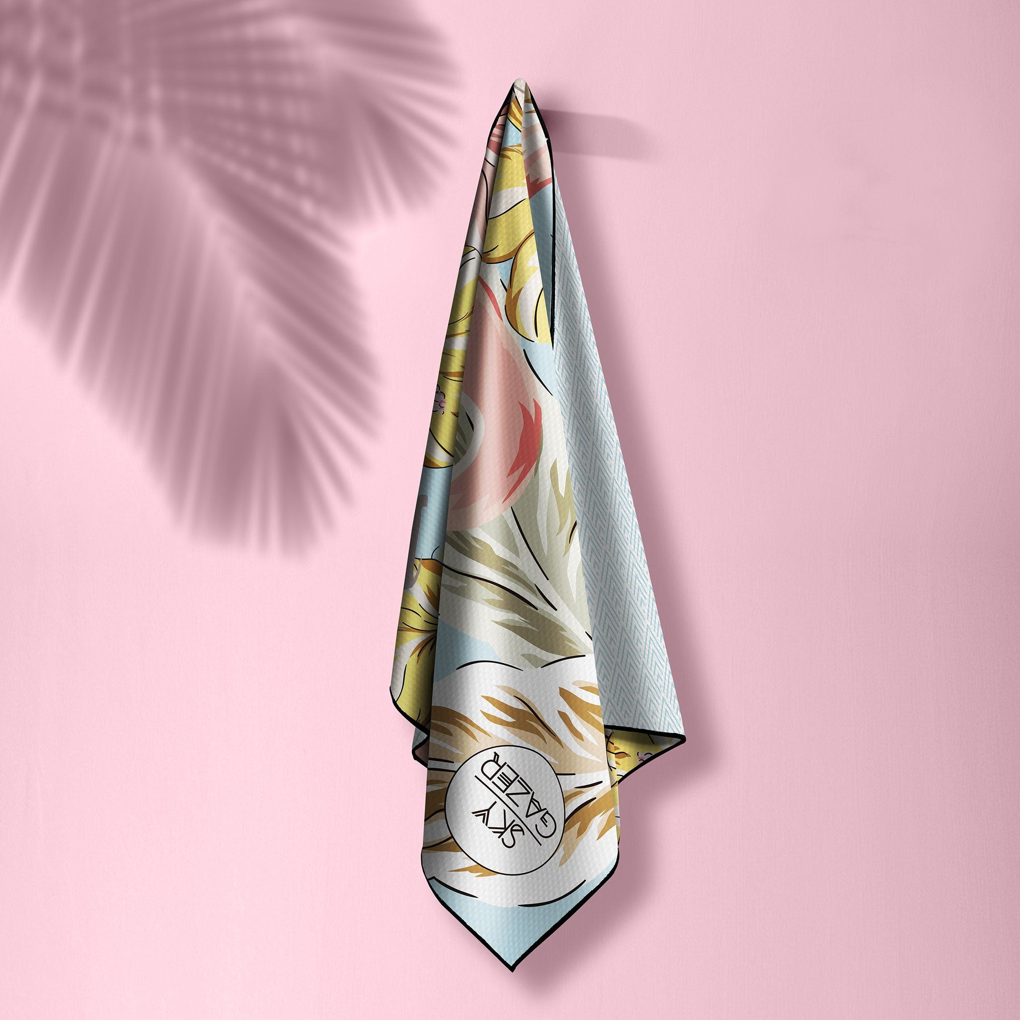 The Byron The Ultimate Beach Towel - by Sky Gazer currently available at Rawspice Boutique.