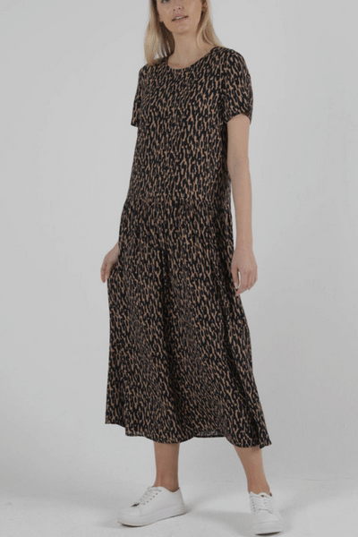 Animal  Camille Dress - by Sass currently available from Rawspice Boutique.