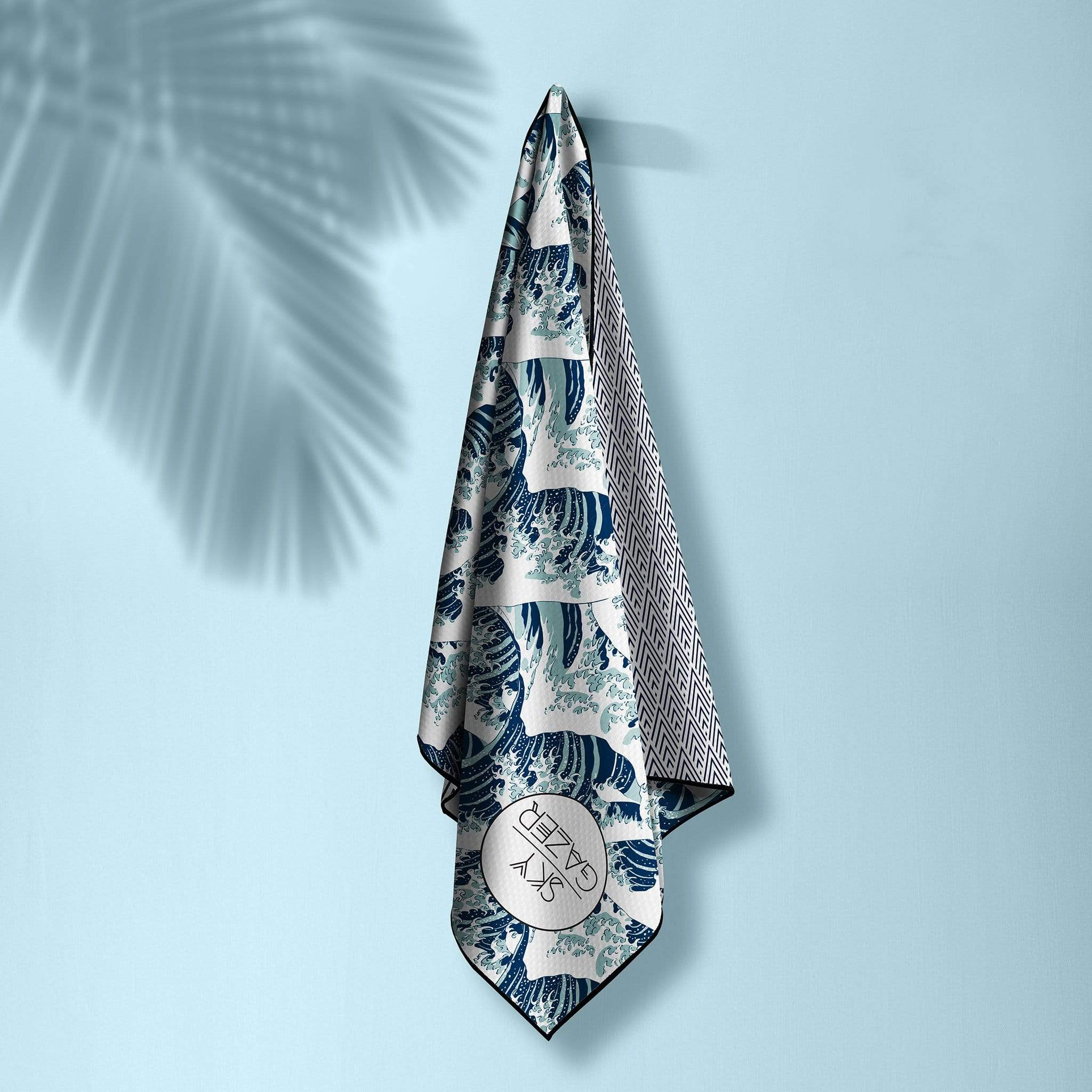 The Mandalay The Ultimate Beach Towel - by Sky Gazer currently available at Rawspice Boutique.