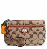 COACH Park Signature Medium Wristlet
