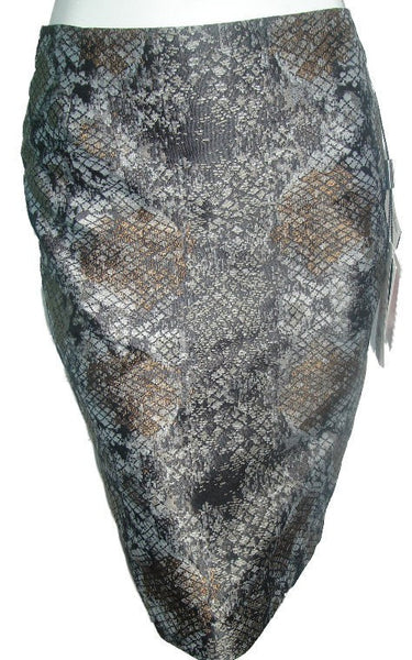 Escada Python Rock Skirt