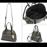 Coach Peyton Signature Cora Domed Satchel