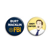 Andy Dwyer Buttons - SleepyMountain