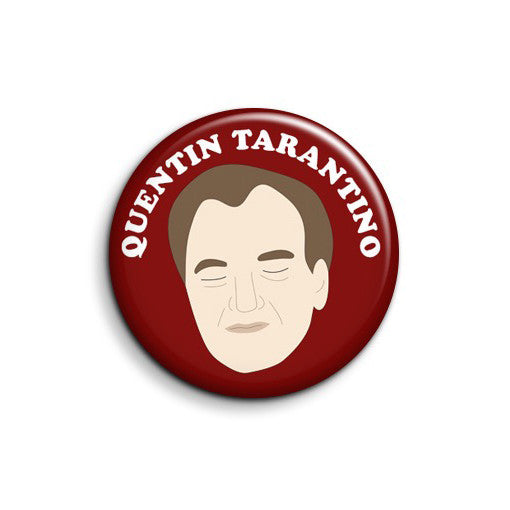Quentin Tarantino Button - SleepyMountain