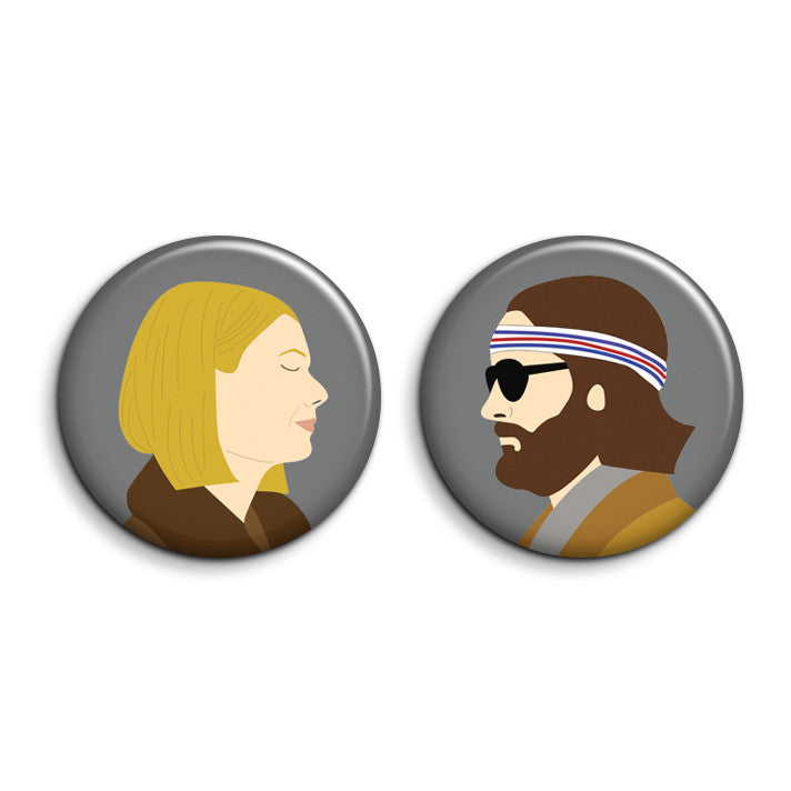 SALE - Margot & Richie Buttons - SleepyMountain