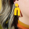 Amber Arch Dangle Earrings - SleepyMountain