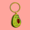 Avocado Keychain - SleepyMountain