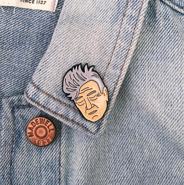 David Lynch Enamel Pin - SleepyMountain