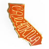 California Enamel Pin - SleepyMountain