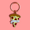 Pizza True Love Keychain - SleepyMountain