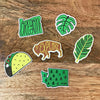 SALE - Banana Leaf Sticker - SleepyMountain