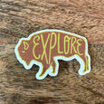 SALE - Buffalo Sticker - SleepyMountain