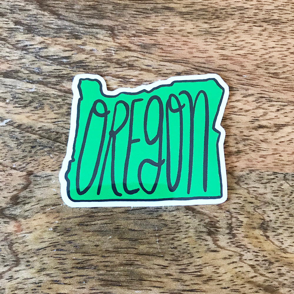 SALE - Oregon Sticker - SleepyMountain