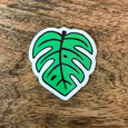 SALE - Monstera Leaf Sticker - SleepyMountain