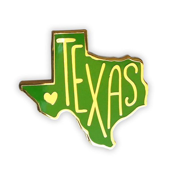Texas Enamel Pin - SleepyMountain