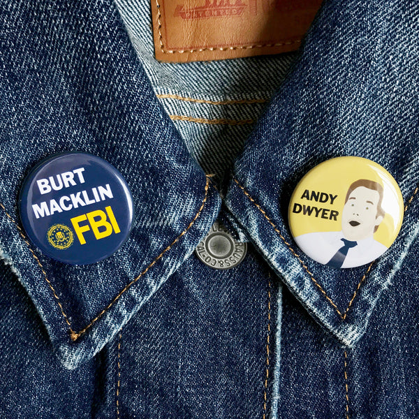 Andy Dwyer Buttons