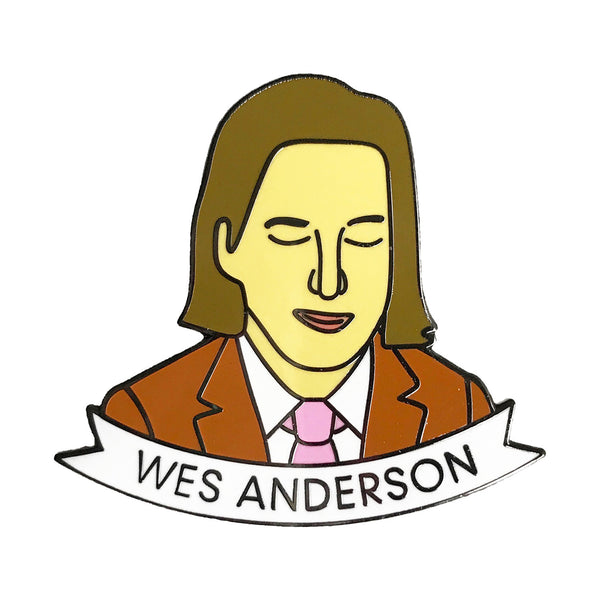 Wes Anderson Enamel Pin - SleepyMountain
