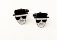 Heisenberg Cufflinks - SleepyMountain