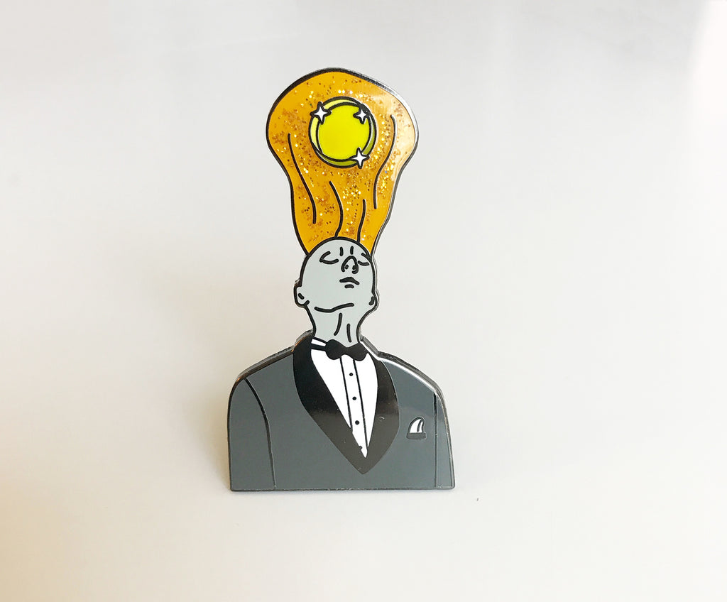 The Giant, Twin Peaks Part 8 - Enamel Pin - SleepyMountain